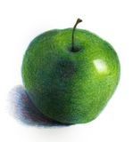 Groene appel royalty-vrije stock foto's