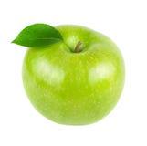 Groene appelvruchten met blad Royalty-vrije Stock Fotografie