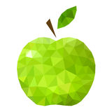 Groene Apple-samenvatting Royalty-vrije Stock Afbeeldingen