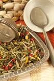 Groene aromatische thee Stock Afbeelding