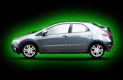 Groene auto royalty-vrije stock foto's