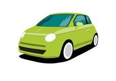 Groene auto Stock Foto