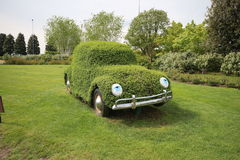 Groene auto Stock Foto's