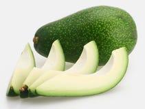Groene avocado Stock Afbeelding