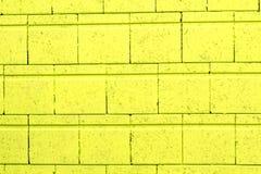 Groene bakstenen muur Royalty-vrije Stock Foto