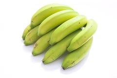 Groene bananen royalty-vrije stock afbeeldingen