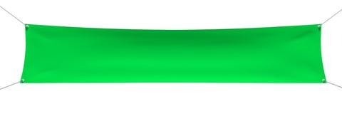 Groene banner met kabels, plaats voor uw tekst Royalty-vrije Stock Fotografie