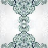 Groene bannerachtergrond Royalty-vrije Stock Afbeelding