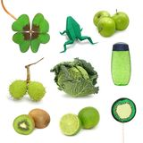 Groene beelden stock fotografie