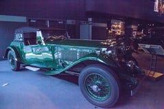 Groene 1932 Bentley 8 Liter Corsica stock afbeelding