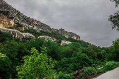 Groene berg stock afbeelding