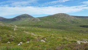 Groene bergen Stock Foto's