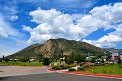 Groene bergen Royalty-vrije Stock Afbeelding