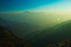 Groene bergen Stock Afbeeldingen