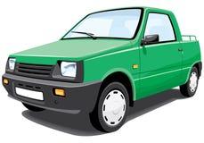 Groene bestelwagen Stock Afbeeldingen