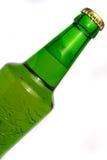 Groene bierfles Royalty-vrije Stock Fotografie