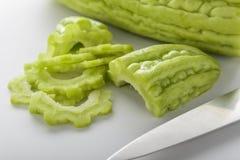 Groene bittere pompoen Stock Afbeelding