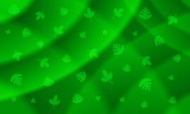 Groene Bladachtergrond Royalty-vrije Stock Afbeelding