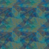 Groene, blauwe en kaki camouflage Stock Afbeeldingen