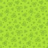Groene bloemen Stock Fotografie