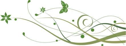 Groene bloemen Royalty-vrije Stock Afbeeldingen