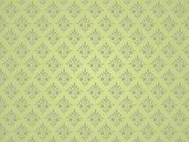Groene bloemenachtergrond. Royalty-vrije Stock Afbeelding
