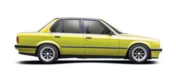 Groene BMW-Reeks 3 Royalty-vrije Stock Fotografie