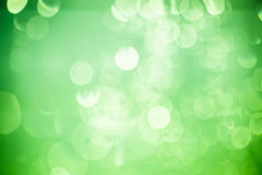 Groene bokeh, achtergrond. Royalty-vrije Stock Foto's