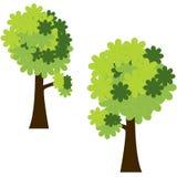 Groene bomen Stock Fotografie
