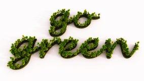 Groene bomeneco vector illustratie