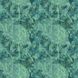 Groene boscamouflage met imitatie van de bladeren Stock Afbeelding