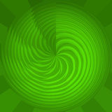 Groene Cirkel Royalty-vrije Stock Fotografie