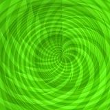 Groene cirkels Stock Afbeelding