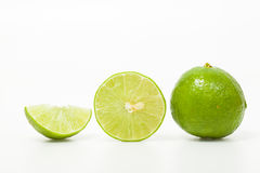 Groene citroen Royalty-vrije Stock Fotografie