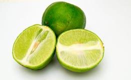 Groene citroen Stock Afbeelding