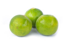 Groene citroenen Stock Afbeelding