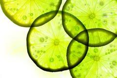 Groene citroenplak Stock Fotografie