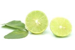 Groene citroenplak Stock Foto's
