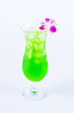Groene citroensoda Stock Foto's