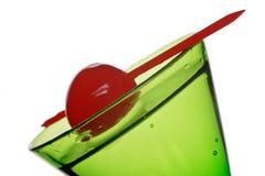 Groene cocktail stock foto's