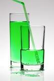 Groene Cocktail Royalty-vrije Stock Afbeeldingen