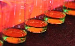Groene Cocktails royalty-vrije stock fotografie