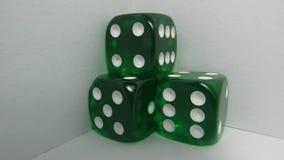 Groene Craps Stock Foto's