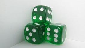 Groene Craps Stock Afbeeldingen