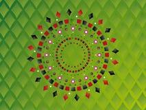 Groene de achtergrond van het casino Stock Foto's