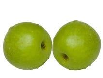 Groene de appelen van het fruit Stock Foto