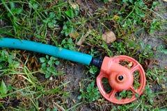 Groene de tuinslang van het pijpgazon Stock Afbeelding
