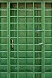 Groene deur Royalty-vrije Stock Afbeelding