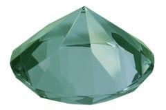 Groene diamant Stock Foto's