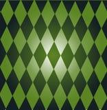 Groene domino's Royalty-vrije Stock Afbeeldingen